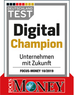 euromicron: Focus test - Digital Champion 2019